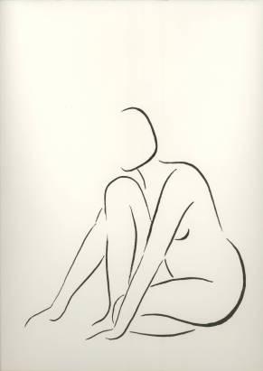 Nude Line Art