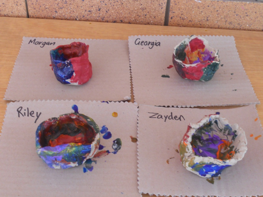 Painted Pinch Pots