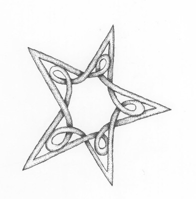 Knotted star I